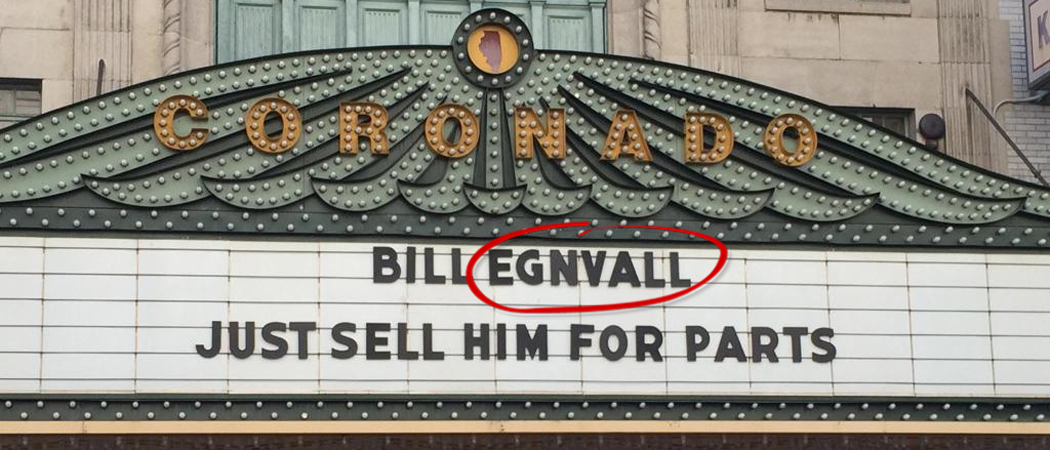 Bill Engvall | Just Sell Him For Parts Coronado Theater Marquee