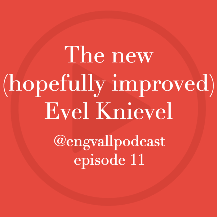 Bill Engvall Podcast | My Two Cents: New Evel Knievel