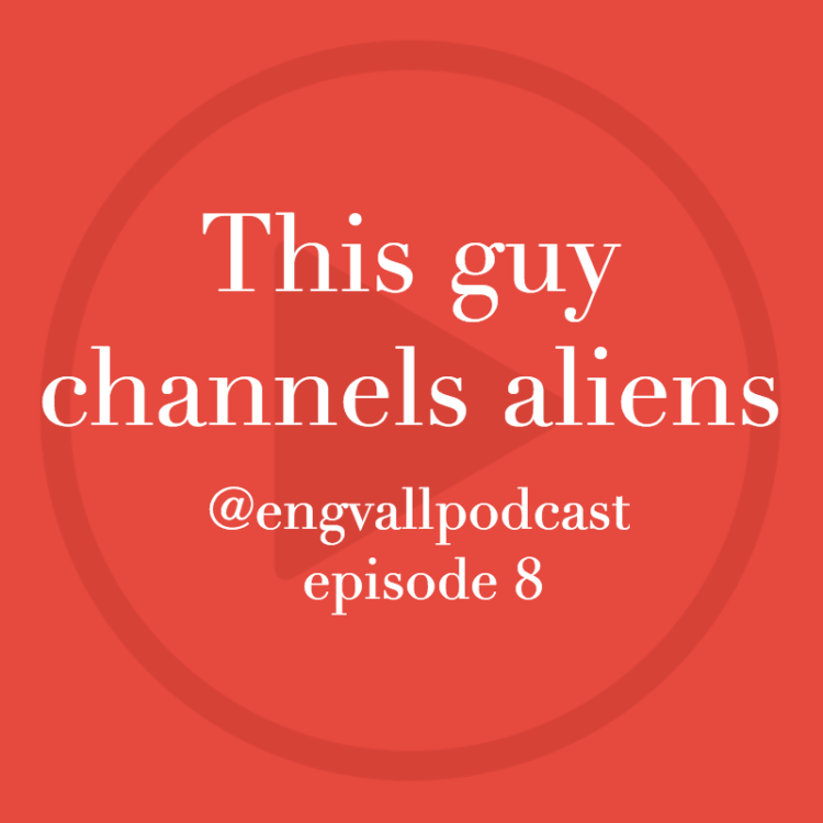 Bill Engvall Podcast | This guy channels aliens