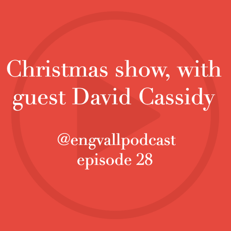 Christmas, podcast, my two cents, David Cassidy, guest, episode 28