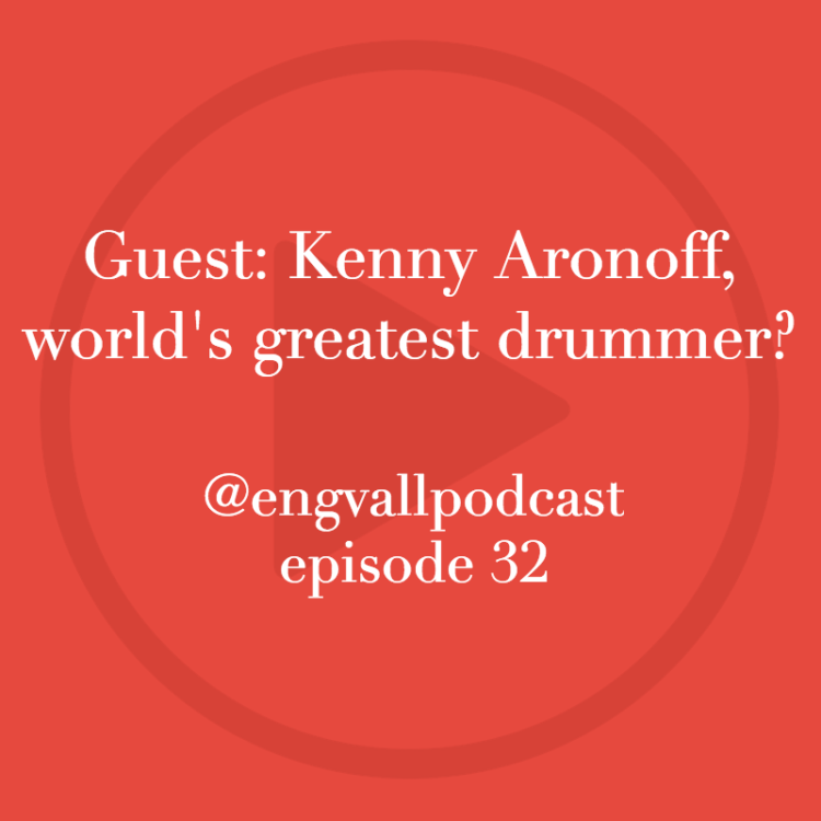 Bill Engvall, my two cents, podcast, kenny aronoff, drummer, drumming